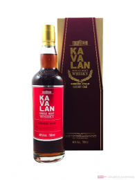 Kavalan Sherry Oak Single Malt Whisky 46% 0,7l Flasche
