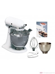 KitchenAid MASTER-PACKET 5K45SSEWH weiß Küchenmaschine