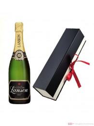 Lanson Champagner Black Label Brut in Geschenkfaltschachtel 0,75l