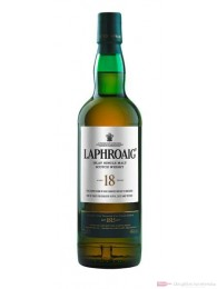Laphroaig 18 Years Old Single Malt Scotch Whiskey 0,7l