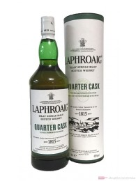 Laphroaig Quarter Cask Single Malt Scotch Whisky 1,0l