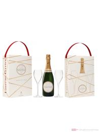 Laurent Perrier La Cuvee Brut + 2 Glasses Champagner 0,75l
