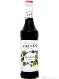 Le Sirop de Monin Brombeer Sirup 1:8 0,7 l Flasche