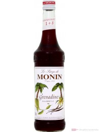 Le Sirop de Monin Grenadine Sirup 1:8 0,7l Flasche