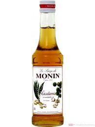 Le Sirop de Monin Macadamia Nuss Sirup 1:8 0,25l Flasche
