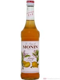 Le Sirop de Monin Mango Sirup 1:8 0,7l Flasche