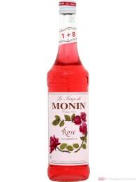Le Sirop de Monin Rose Sirup 1:8 0,7l Flasche