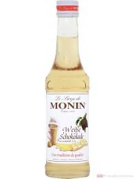 Monin Weisse Chocolade Sirup 0,25l