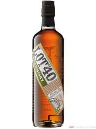 LOT No. 40 Canadian Rye Whisky 0,7l