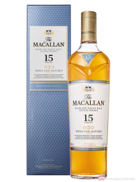The Macallan 15 Years Triple Cask