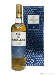 The Macallan Fine Oak 12 years Bling Box Single Malt Whisky 0,7l