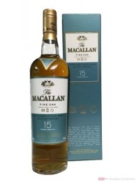 The Macallan 15 Years Fine Oak Single Malt Scotch Whisky 0,7l