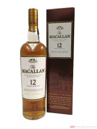 The Macallan Sherry Oak 12 years Single Malt Whisky 0,7l