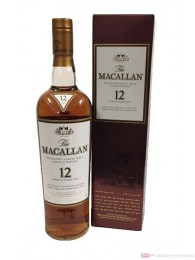 The Macallan Sherry Oak 12 years 43% Single Malt Whisky 0,7l