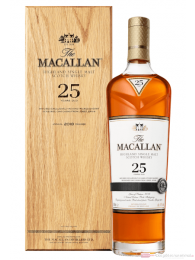 The Macallan Sherry Oak 25 Years Triple Cask Matured in Holzkiste 0,7l
