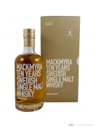 Mackmyra Ten Years Swedish Single Malt Whisky 0,7l
