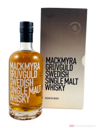 Mackmyra Gruvguld Swedish Single Malt Whisky 0,7l