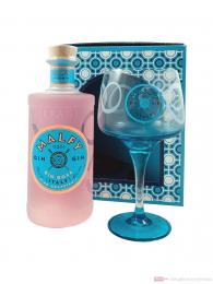 Malfy Gin Rosa in Geschenkverpackung mit Glas 0,7l