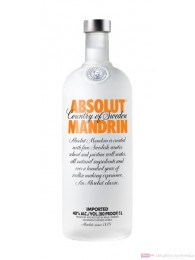 Absolut Vodka Mandarin 1,0l