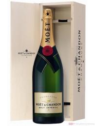 Moet & Chandon Brut Impérial Champagner 12% Méthusalem 6l Flasche in Holzkiste