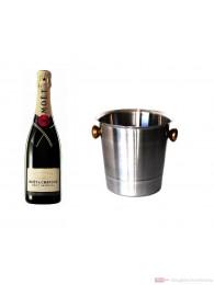 Moet & Chandon Brut Impérial Champagner im Kühler 0,75l