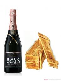 Moet & Chandon Champagner Grand Vintage Rosé 2013 Holzkiste 0,75l