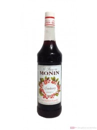 Monin Cranberry Sirup 1,0l