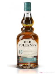 Old Pulteney 15 Years Single Malt Scotch Whisky 0,7l