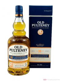 Old Pulteney 16 Years Single Malt Scotch Whisky 0,7l