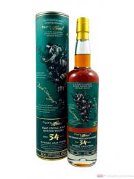 Peat`s Beast 34 Years Cognac Cask Finish Single Malt Scotch Whisky 0,7l