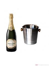 Perrier Jouet Champagner Grand Brut im Champagner Kühler 0,75l