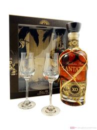 Plantation 20Th Aniversary + 2 Gläser Barbados Rum 0,7l