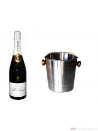 Pol Roger Champagner Brut Réserve im Champagner Kühler 0,75l
