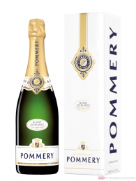 Pommery Apanage Blanc de Blanc Champagner in Geschenkpackung 0,75l