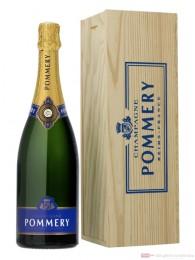 Pommery Champagner Royal Brut Jéroboam in Holzkiste 3l