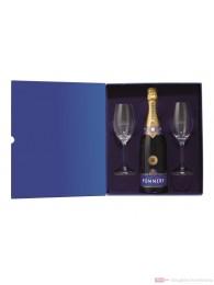 Pommery Royal Brut in Geschenkverpackung + 2 Gläser 0,75l