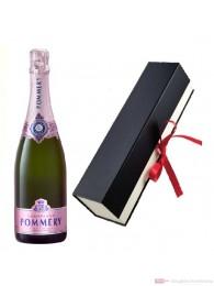 Pommery Rosé Brut Champagner in Geschenkfaltschachtel 0,75l