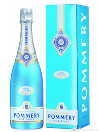 Pommery Royal Blue Sky Champagner in Geschenkpackung 0,75l