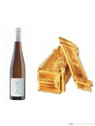 Robert Weil Riesling Charta Qba trocken Weißwein 2010 12% 0,75l Flasche in Holzkiste geflammt