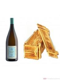 Robert Weil Riesling Qba trocken Weißwein 2011 12% 1,0l Flasche in Holzkiste geflammt