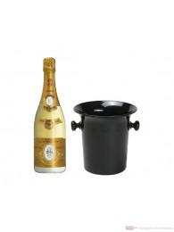 Louis Roederer Cristal 2009 Champagner in Champagner Kübel 0,75l