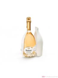 Ruinart Champagner Blanc de Blanc in Second Skin open