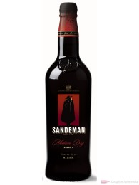 Sandeman Medium Dry Sherry 15 % 0,7 l Flasche