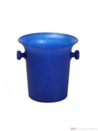 Sekt und Champagner Kübel Royal blau