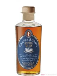 Sibona Grappa Riserva Botti da Rum 0,5l