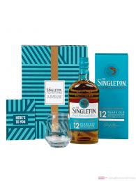 The Singleton of Dufftown 12 Years Geschenkset mit Glas und Grußkarte Single Malt Scotch Whisky 0,7l