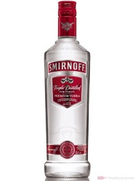 Smirnoff No.21 red Label Wodka 37,5 % 0,5 l Flasche