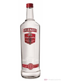 Smirnoff Wodka No.21 Red Label 37,5 % 3,0 l Großflasche + Pumpspender