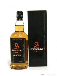 Springbank 10 Years Single Malt Scotch Whisky 46% 0,7l Flasche