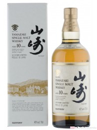 Suntory Yamazaki 10 Years Single Malt Whisky Japan 0,7l